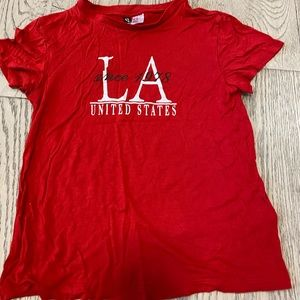 H&M red t-shirt